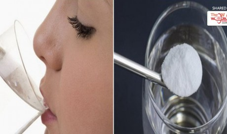 Drank A Cup Of Water with Baking Soda Every Day