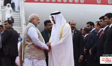 Watch: Modi receives Mohammed bin Zayed in Delhi