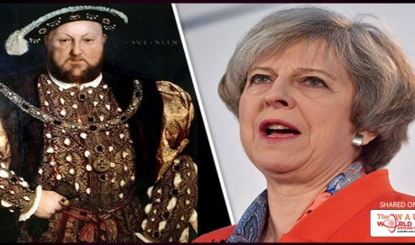 Theresa May set to use 500-year-old 'Henry VIII clauses' to convert EU law post-Brexit