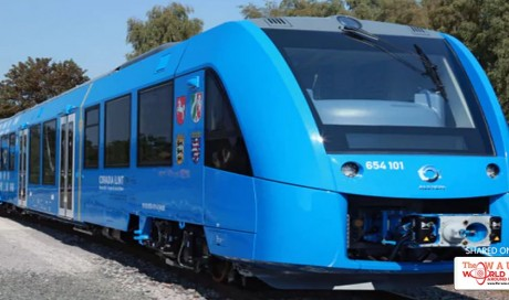 The world's first zero-emissions hydrogen train is coming