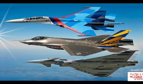 Top Ten Fighter Jets In The World 2017