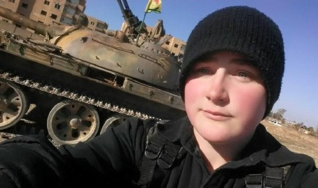 Canadian woman fighting IS may be near Raqqa