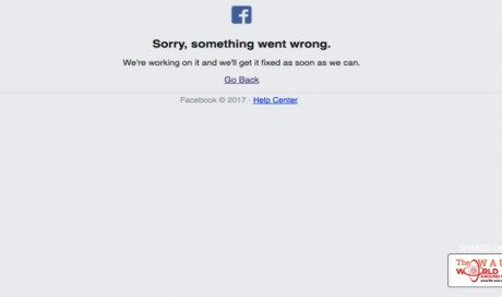 Facebook is down in Asia-Pacific and parts of North America, too