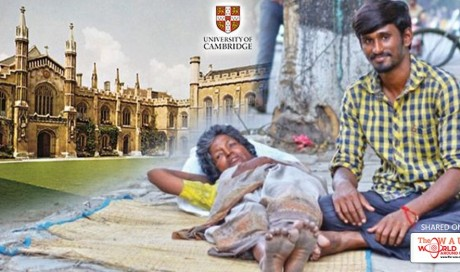 Beggar boy from Chennai reaches Cambridge university to study race cars