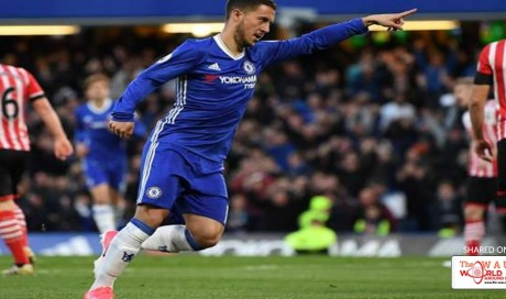 The Chelsea star downplayed being mentioned in the same breath as the iconic stars, saying he simply tries