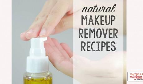 7 Natural DIY Makeup Remover Recipes for Happy Skin