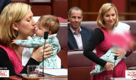 Australian Politician Makes History By Breastfeeding While Passing A Motion In Parliament