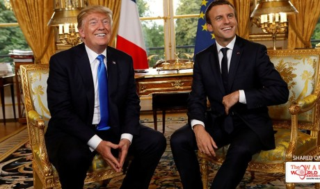 Macron Says Trump May Reverse US Pullout From Paris Climate Accord