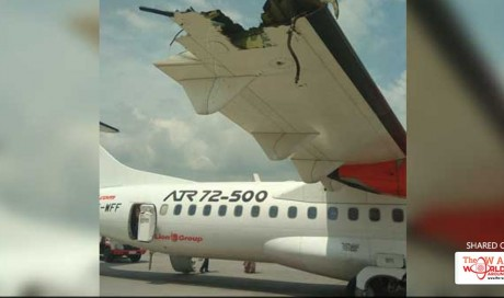 No Kidding. 2 Passenger Planes Collided On Runway, No One Hurt