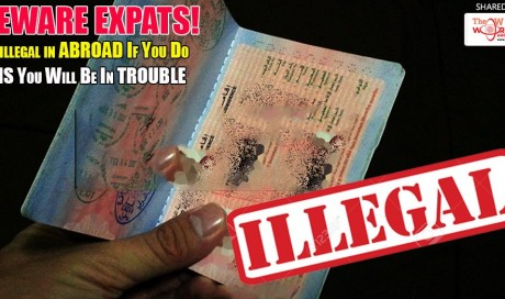 Illegal To Work Abroad With A tourist visa