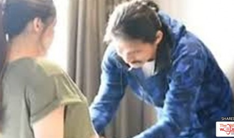 Watch: Actual Video Of Kylie Padilla Giving Birth To Son Baby Joaquin Through Water Birth