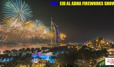 UAE: Eid Al Adha Fireworks Show