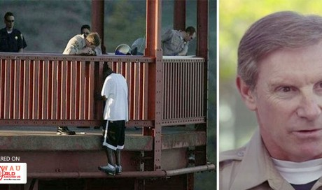 Officer Saves Suicidal Man Off the Golden Gate Bridge. 10 Years Later Cop Can't Believe He's Meeting the Same Man!