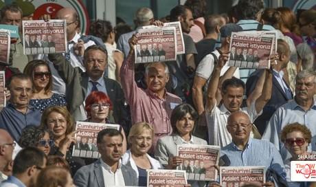 Trial of Turkey opposition newspaper staff resumes