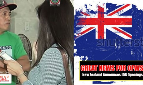 Great News for OFWs: New Zealand Announces Job Openings for 5,000 Skilled Workers