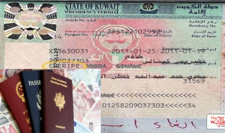 Dependent visa to Work visa – Stay of wife in Kuwait