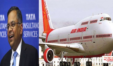 Tata Sons Chairman Confirms Interest In Buying Air India