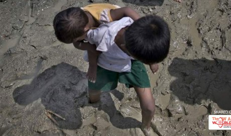 7-year-old Rohingya boy carried sister to reach Bangladesh
