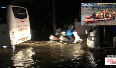 3 killed, two missing in heavy rains in Bengaluru, woman rescued from submerged car
