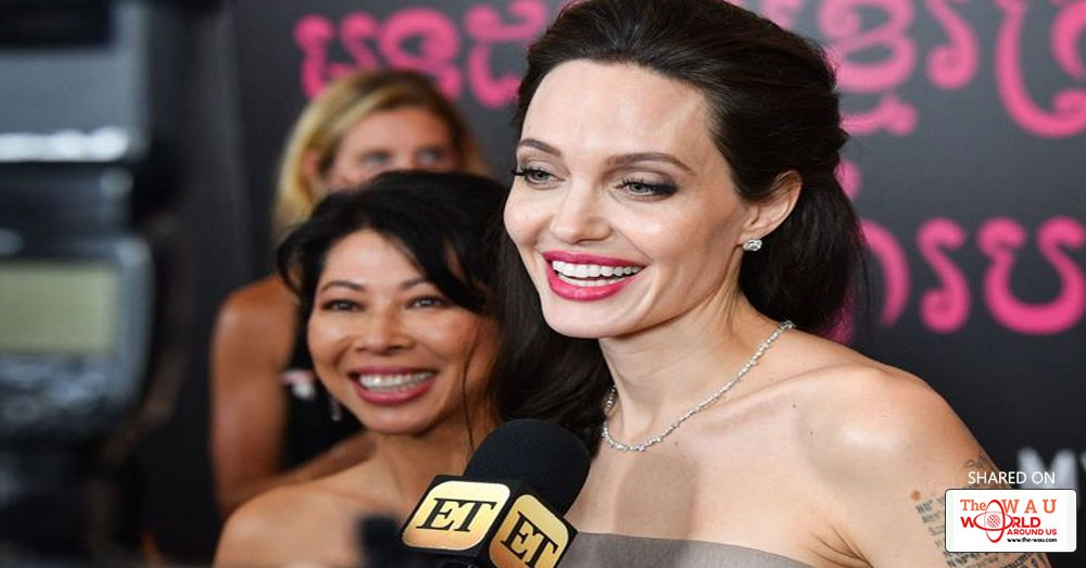Angelina Jolie Debuts New Haircut A Year After Splitting With Brad
