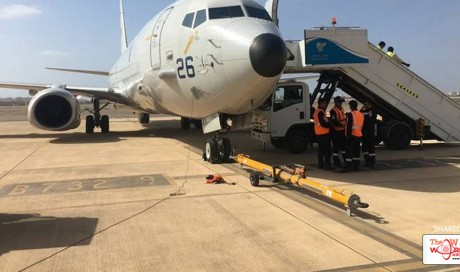 Indian Navy aircraft arrives in Philippines to search for missing sailors