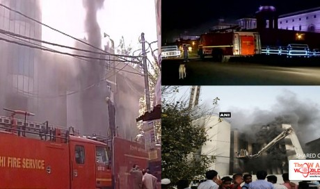 Fire breaks out at Narendra Modi's Delhi office; no casualties reported