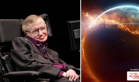 When Stephen Hawking Believes Life On Earth Will End