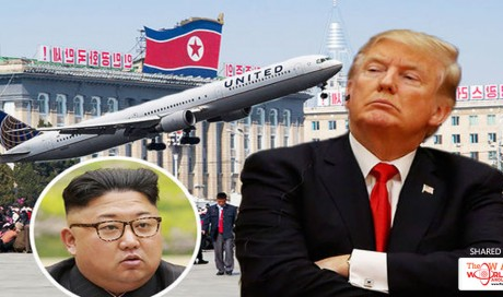 BREAKING: Donald Trump BANS US flights from North Korea airspace after narrow MISSILE miss