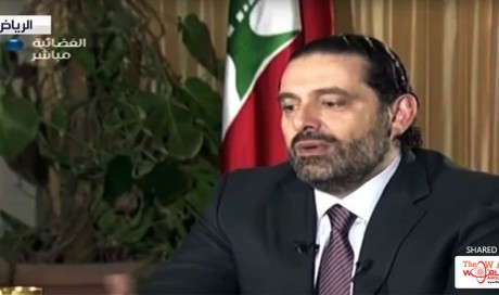 Hariri says Iran to blame for Lebanon crisis, promises to return to his country 'very soon'