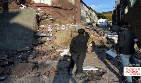 Fear and loathing in South Korea as university exam postponed by quake