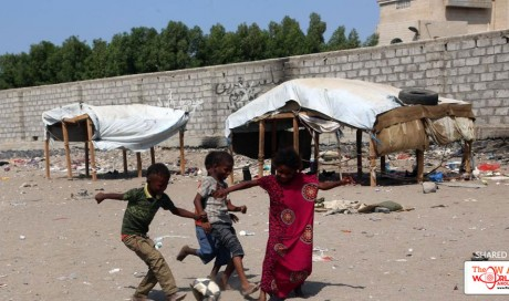 Save the Children says 130 children die every day due to Saudi-led war inYemen