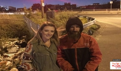Homeless man's act of kindness nets him over $300,000 in viral donation campaign