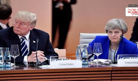 Trump hits back at Theresa May: 'Focus on destructive Islamic terrorism within UK, not me'