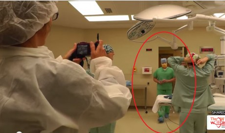 Doctor Interrupts Emergency C-section…The Nurse was Shocked at His Reason