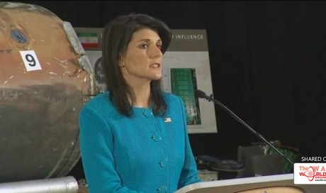 Nikki Haley: Houthi missile fired at Saudi Arabia was 'made in Iran'