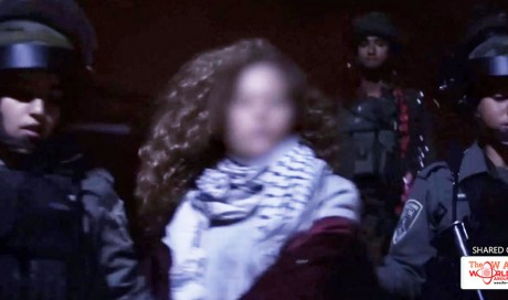 Israeli Army Arrests Palestinian Teenage Girl Who Slapped Soldiers; 'She Should Finish Her Life in Prison'