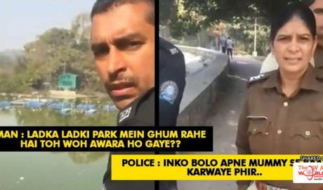 Police Was Harassing A Young Couple. What This Man Did Will Make You Salute Him