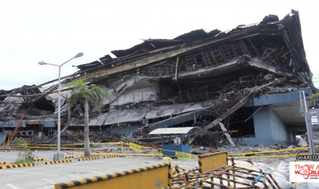 Philippines suspends work at call centre of U.S. firm, mall after deadly fire