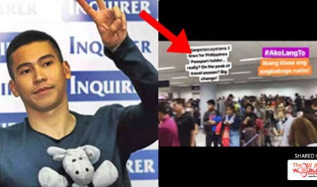 Enchong Dee Tags Sen. Alan Peter Cayetano On Complaints About Long Lines In NAIA