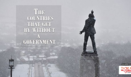The countries that get by without a government