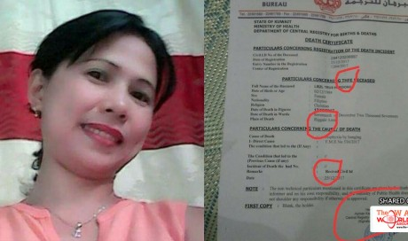 Family Of OFW Doubts That She Committed Suicide When She Came Home From Kuwait Without Eyes And Organs