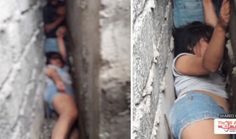 Drunk Woman Climbs Roof of Neighbor's House, Gets Trapped Between the Walls after Falling