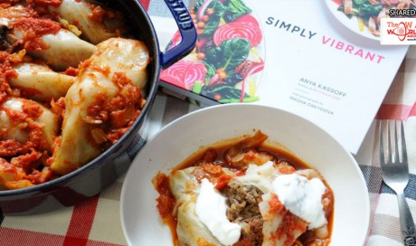 These vegetarian cabbage rolls are perfect for a relaxed and hearty meal