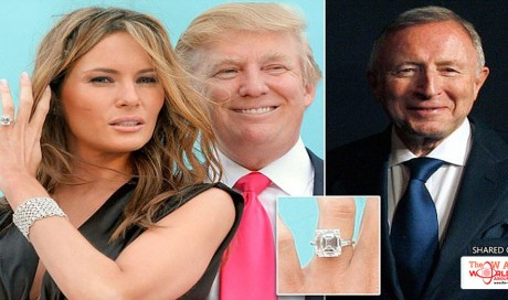 Trump Lied About How Much He Paid for Melania's 10-carat Diamond Engagement Ring
