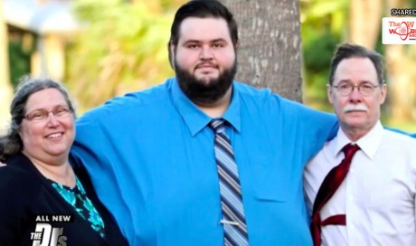 540lb Man Is Unrecognisable After Losing 300lbs With The Help Of Facebook Group