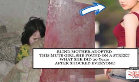 Blind Woman Found and Adopted an Abandoned Mute Girl, Everyone Surprised With Big Transformation 20 Years After