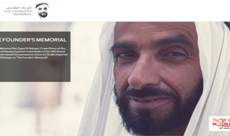 UAE Founder's Memorial to be inaugurated February 26