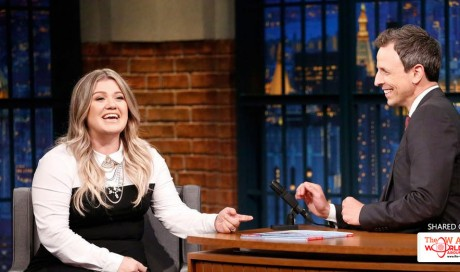 Seth Meyers and Kelly Clarkson Caught Drunk In Public
