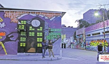 Streets Come to Life in Saudi Arabia's First Graffiti Project