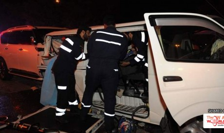 One Killed, Five Injured in Six-car Pile Up in Abu Dhabi